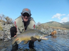 Fishing for Trophy Brown Trout