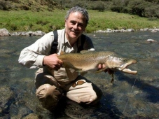 A big Brown Trout caught in NZ